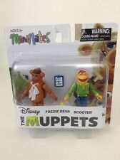 NEW The Muppets Minimates Series Wave 1 Fozzie Bear & Scooter
