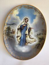 Bradford Exchange Our Lady of Medjugorje plate Visions of Our Lady 5th