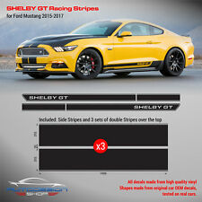 Mustang Shelby GT Racing Side Stripes 2015 2016 2017 2018