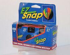 EZ Snap 400asa usage unique Caméra, datée du 2002. (27exp)