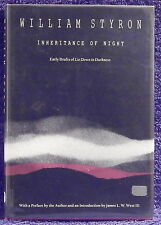 Styron, William.  Inheritance of Night.  Signed, First Edition.