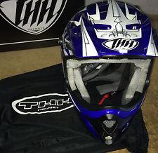 THH TX-22 Mx Helmet Blue/Black Size XL
