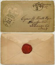 More details for usa 1860 illustrated env house of representatives harrisburg pa paid 3c + seal