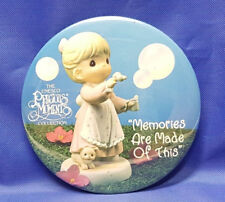 "Pinback Button 3"" Precious Moments Enesco Memories Are Made Of This - 1993"