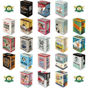Nostalgic-Art - Blech-, Metall-, Vorrats-, Kaffee-, Keks-, Zucker-, Müslidose