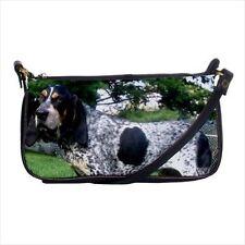 Bluetick Coonhound Shoulder Clutch Handbag & Mini Coin Purse - Dog Canine