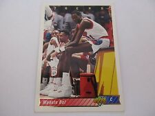 Carte NBA UPPER DECK 1992-93 FR #222 Manute Bol Philadelphia 76ers