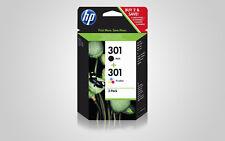 Original HP 301 Combo-Pack 2er-Tinte (N9J72AE) für 2510 2514 2542 2543 2544 2547