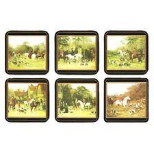 Pimpernel Tally Ho - Cork-Backed Coasters - Set of 6