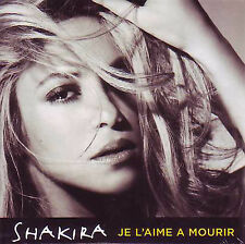 ★☆★ CD Single SHAKIRA Francis CABREL Je l'aime à mourir 2T CARDSL NEW SEALED ★☆★