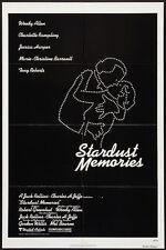 STARDUST MEMORIES - 1980 - Orig 27x41 movie poster - WOODY ALLEN - Regular Style