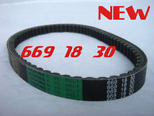 CVT Drive Belt  669 18 30 for 49 cc  50cc Scooters Mopeds Tank Roketa Peace ICE