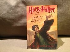 Harry Potter and the Deathly Hallows by J.K. Rowling 1st Edition 2007 Very Good