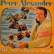 "Peter Alexander-ZDF-specialità-show 12"" 2 LP (t862)"