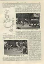 1924 New Cement Works River Humber 2 Chalk Grinding Slurry Pump Ht Porcelain