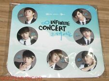 INFINITE 2012 SUMMER CONCERT CONCERT THAT SUMMER GOODS PIN BUTTON BADGE SET