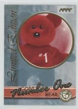 1999 Ty Beanie Babies Series 3 #NUON Number One Bear Non-Sports Card 2d6