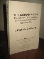 1st Edition Goddess Pose Michelle Goldberg Indra Devi Advance Proof Yoga