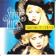 """STEVIE NICKS Sometimes It's A Bitch PICTURE SLEEVE FLEETWOOD MAC 7"""" 45 RARE!"""