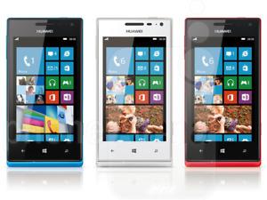 "huawei ascend w1-u00 4"" windows phone 5mp camera lock unlock mix GRADEs"
