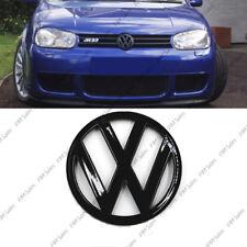 VOLKSWAGEN VW GOLF MK4 IV front noir brillant badge logo coffre Emblème 115mm