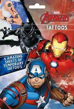Marvel Avengers Boys Classic Comic Book Style Tattoos
