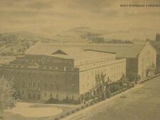 2 Vtg 1930s 40s Jumbo B & W Sepia POSTCARDS Pullman Washington State College