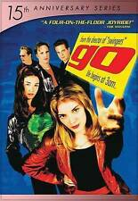 Go (DVD, 2014, 15th Anniversary) New with slipcover 1999 movie Sarah Polly Scott