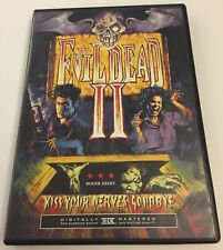 Evil Dead Ii [2] Anchor Bay Dvd Bruce Campbell! With Insert Usa Region 1