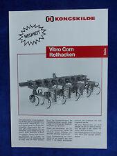 Kongskilde Vibro Corn Rollhacken - Prospekt Brochure 11.1991  (0737-2