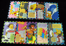 1994 Skybox The Simpsons Smell-o-Rama Trading Card Set (10) NM/MT
