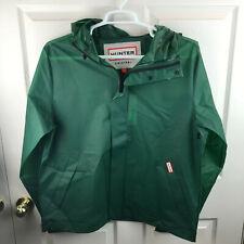 New NWT Men's Hunter Original Windcheater Jacket Hooded Green Size Large