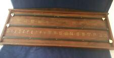 Snooker/Billiards Wooden Score Board