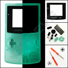 New Clear Green Glow In The Dark Nintendo Game Boy Color GBC Case/Shell/Housing