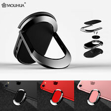 360° Metal Ring Car Kickstand Magnetic TPU Case For iPhone Samsung Mobile Phone