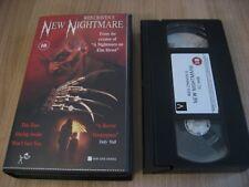 WES CRAVEN'S NEW NIGHTMARE VHS FREDDY KRUEGER ROBERT ENGLUND HEATHER LANGENKAMP
