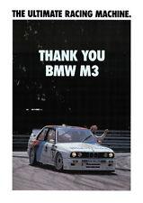 BMW E30 M3 BMW DTM Motorsport Large poster print #12