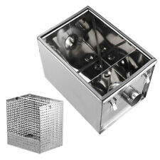 More details for commercial grease trap stainless steel interceptor set with waste filter basket