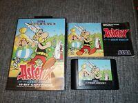 Asterix: The Great Rescue Sega Mega Drive Megadrive Complete Boxed with Manual