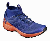 Laufschuh Trailschuh Crosslauf Salomon XA Enduro, Profeel, blau orange, 392408