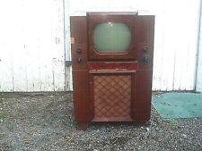 Antique 1948 Fada 940 Console Floor Model Television Tv Set For Restoration