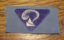 Ancien insigne scout scoutisme chapeau plume