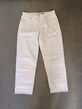 Marques Almeida X Topshop Boyfriend Jeans Off White Größe 40