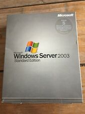MS Windows Server 2003 Standard Edition,  incl. 5 Clients, Deutsch