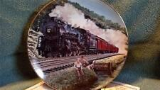 HOMEWARD BOUND CLASSIC AMERICAN TRAINS COLLECTOR PLATE
