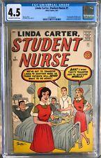 Linda Carter, Student Nurse #1 (1961) CGC 4.5 -- O/w to w 1st future Night Nurse