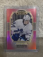 2019-20 UD STATURE Rookie RED PORTRAITS TREVOR MOORE /20 Toronto Maple Leafs🔥🔥