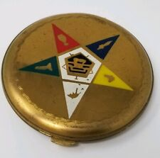 Vintage Order of The Eastern Star Lin Bren Powder  Compact