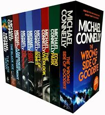 Harry Bosch Series By Michael Connelly 9 Books Collection Set Black Ice NEW