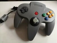 NINTENDO 64 GREY CONTROLLER CONTROL GAME PAD * NEW N64